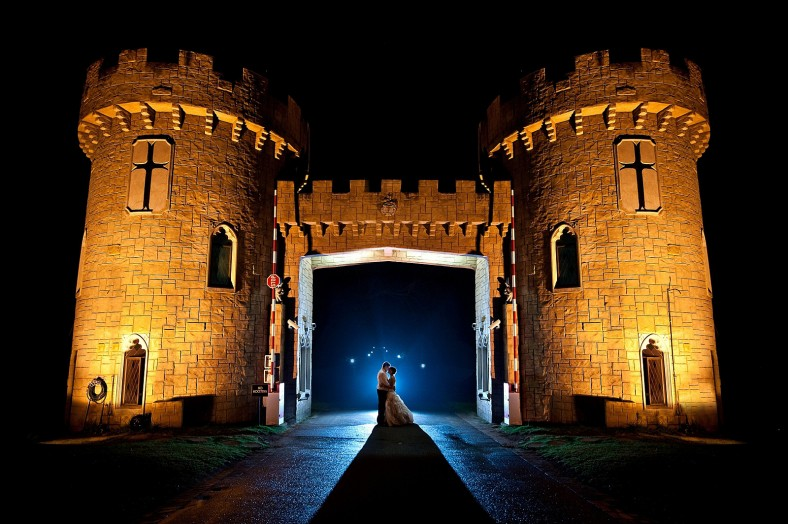 fairy tale castle wedding
