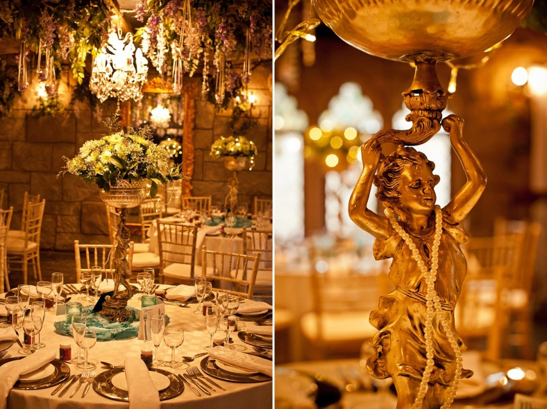 romantic fairy tale wedding decor