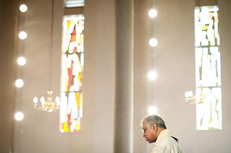 Father Desmond Nair - Fatima Church wedding