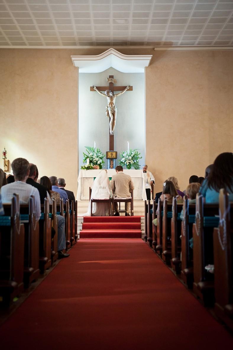 Our Lady of Fatima Church wedding