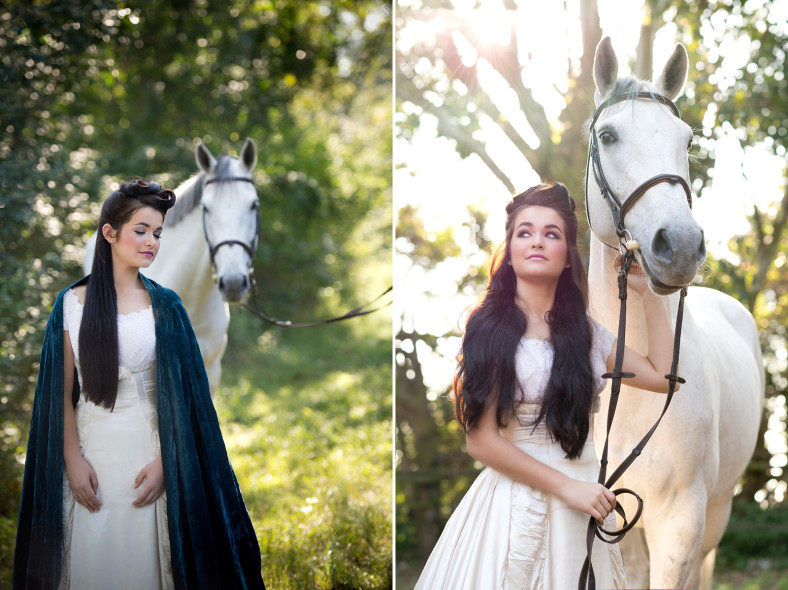 Etherel pic of girl with horse