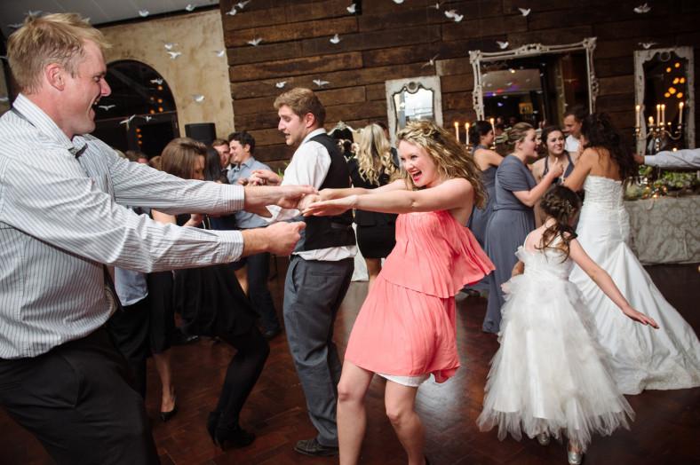 drunk dancing