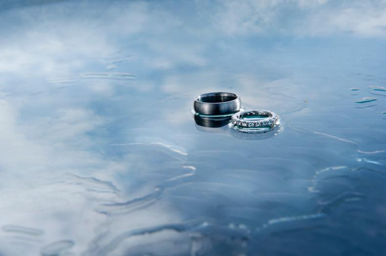 wet rings