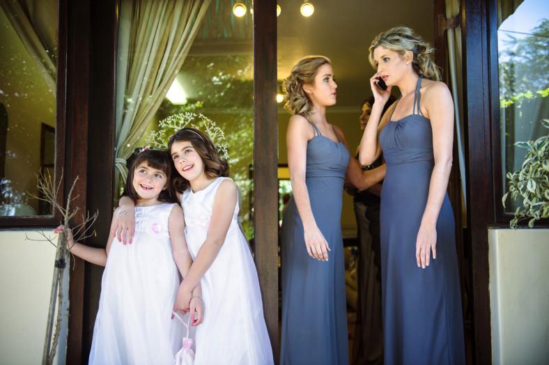 girls at a wedding