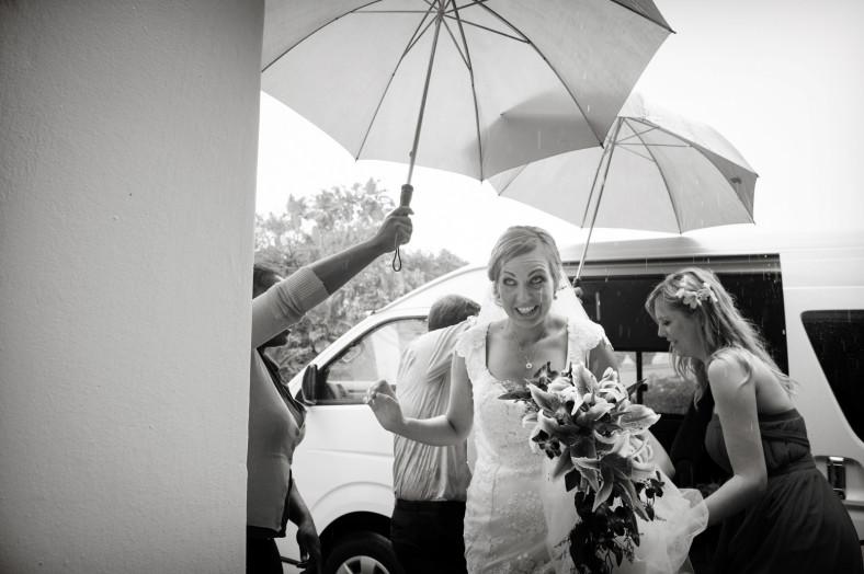 raining bride