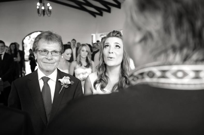 crying bride