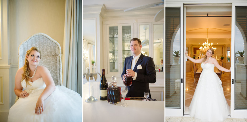 the oyster box hotel wedding photography creative shoot with couple