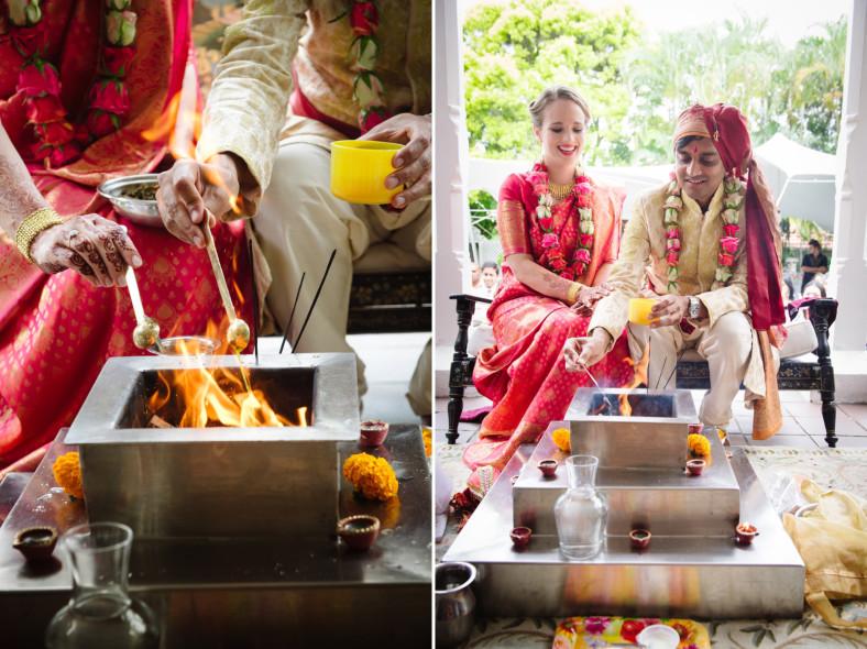 Hindu Christian Wedding Documentary Wedding Photographer Ceremony