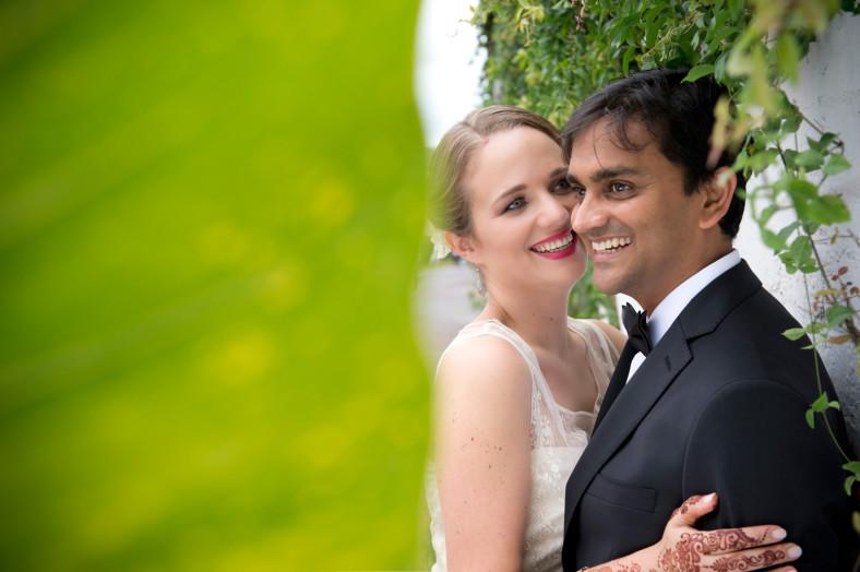 Hindu Christian Wedding Documentary Wedding Photographer Couple Creative Shoot