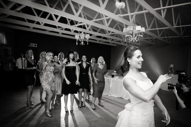 Talloula Documentary Wedding Photography Reception Bouquet