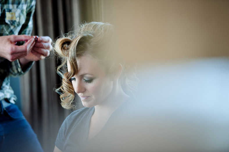 Midlands wedding bridal prep