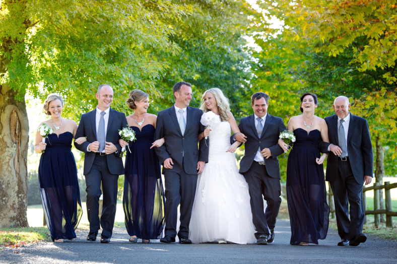 Midlands wedding bridal party