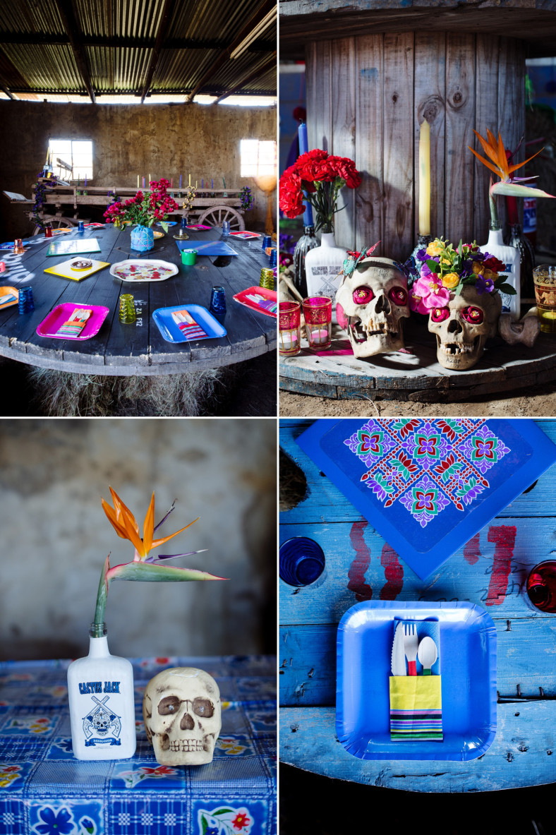 day of the dead wedding decor
