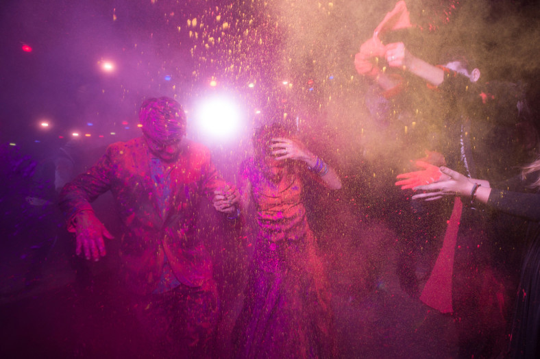 holi at wedding