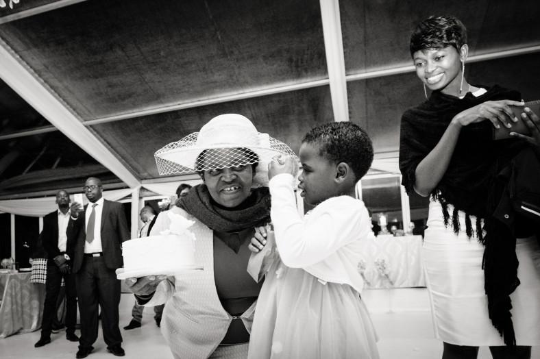 granny at wedding