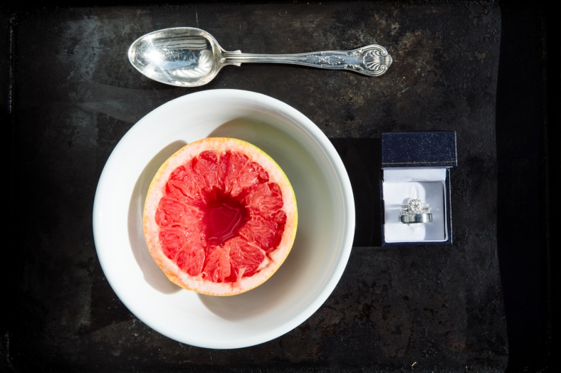 Rings and grapefruit