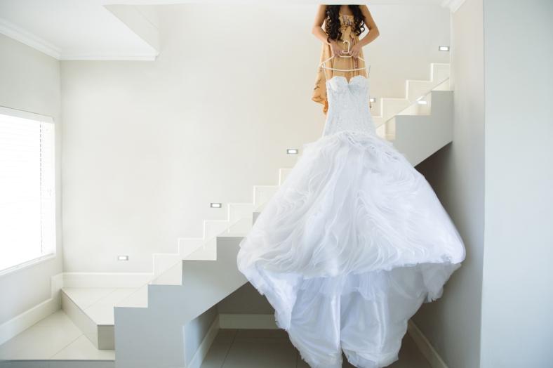 Portuguese wedding dress