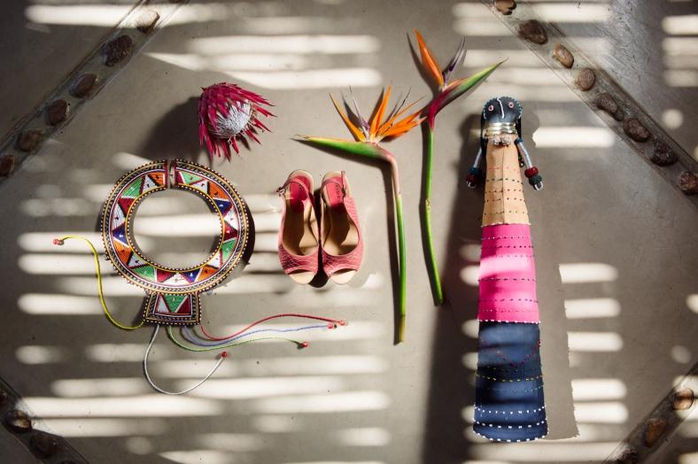 Safari shoe shot