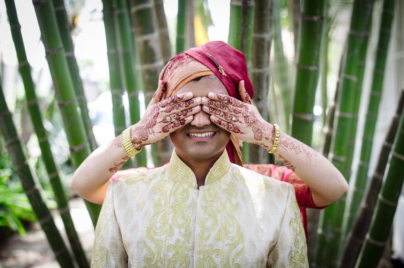 Hindu wedding mendhi