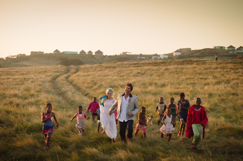 Transkei beach wedding