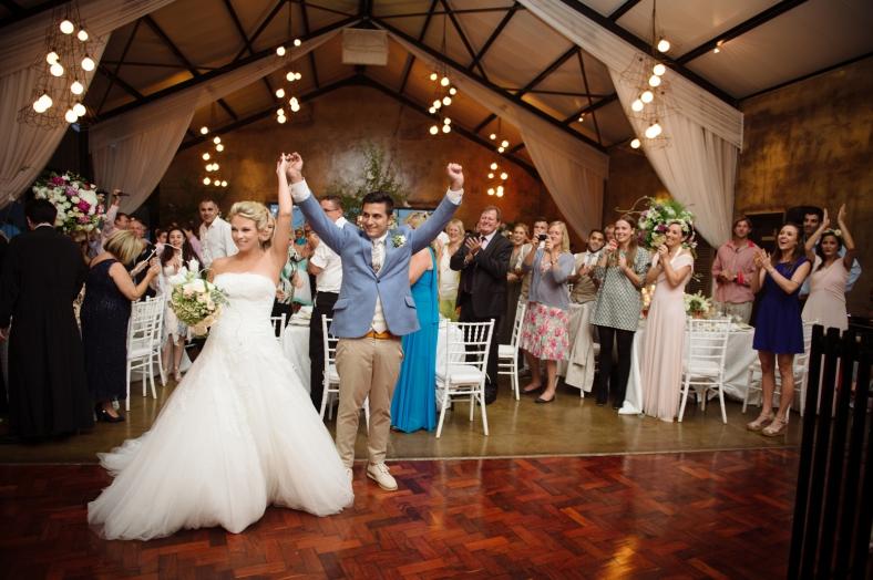 Greek wedding reception