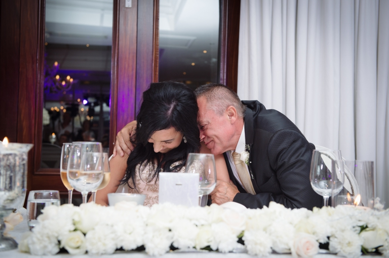 Father and Daughter at wedding