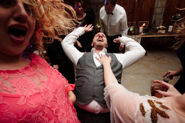 Crazy drunk dancing