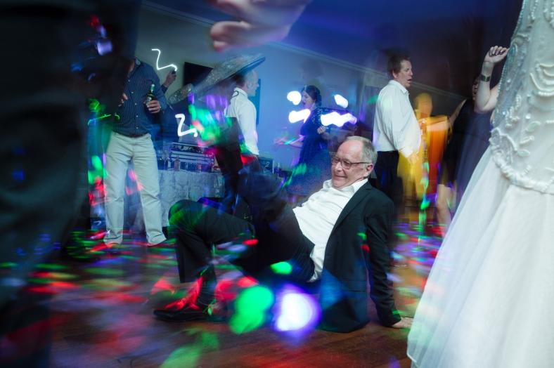 Grandpa break dancing