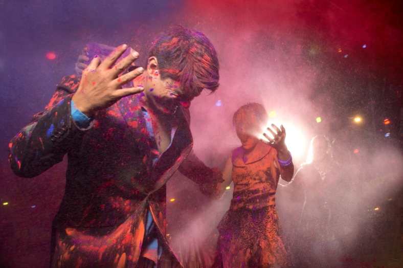 Epic holi Wedding