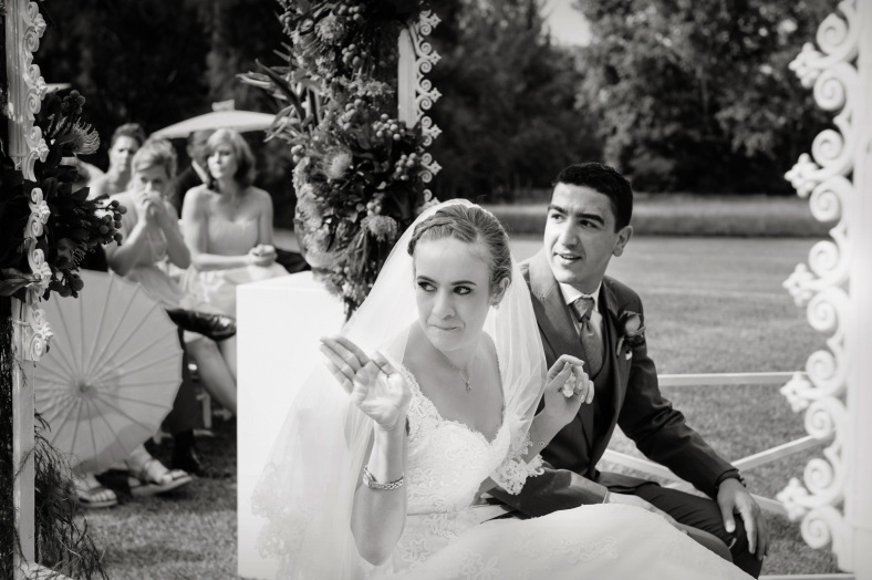 Bride and Groom confused