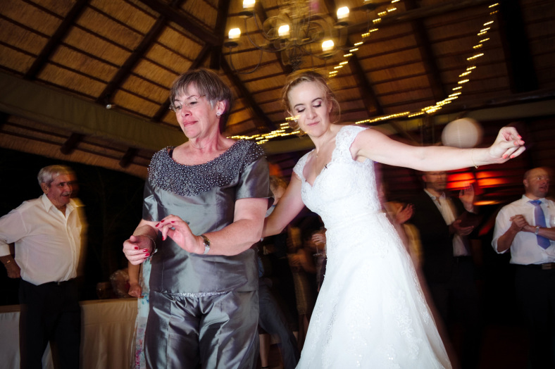 Mother and Bride dancing