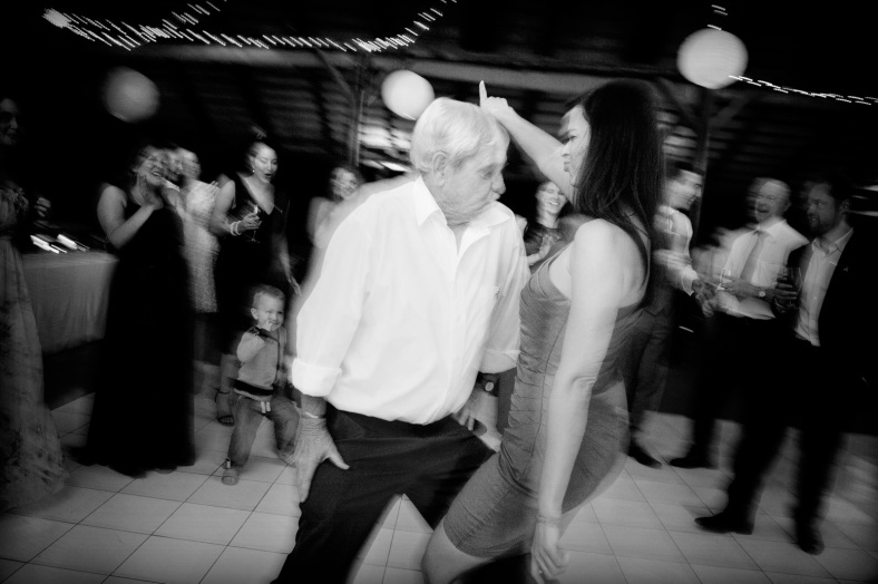 old man dancing with woman