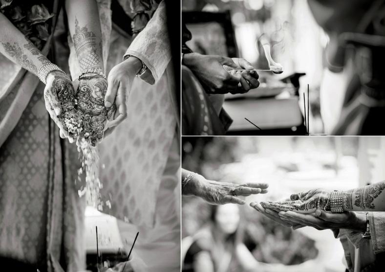 Hindu Ceremonial Hands