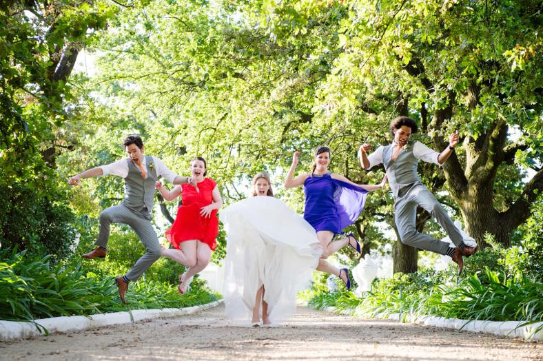 Wedding leprechauns