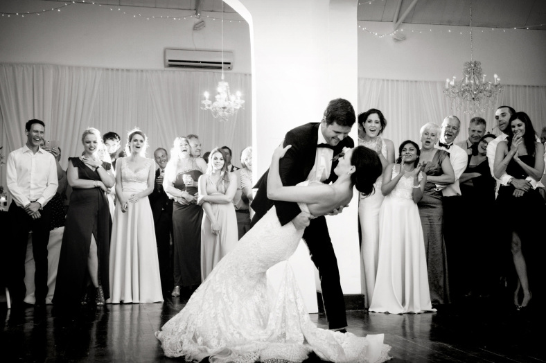 First dance dip