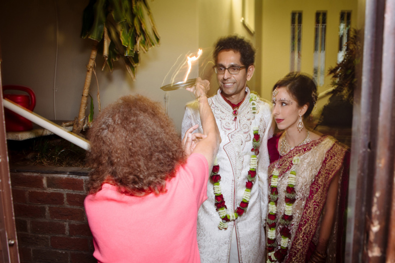 Hindu wedding prayer
