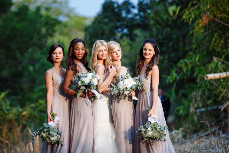 Ballerina bridesmaids