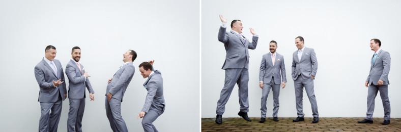 South African groomsmen