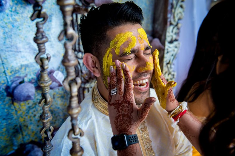 Portrait of Hindu Groom.