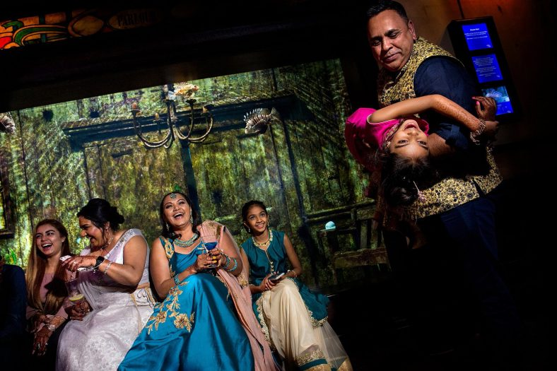Documentary photography at Hindu wedding function.
