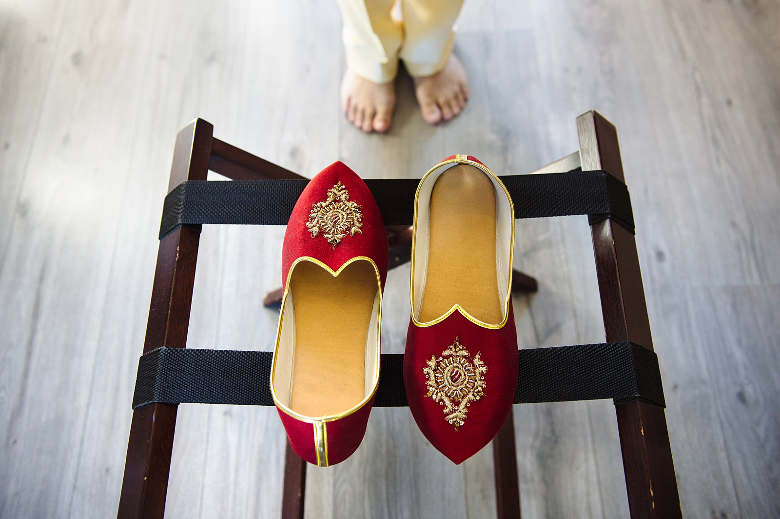 Indian male wedding shoes