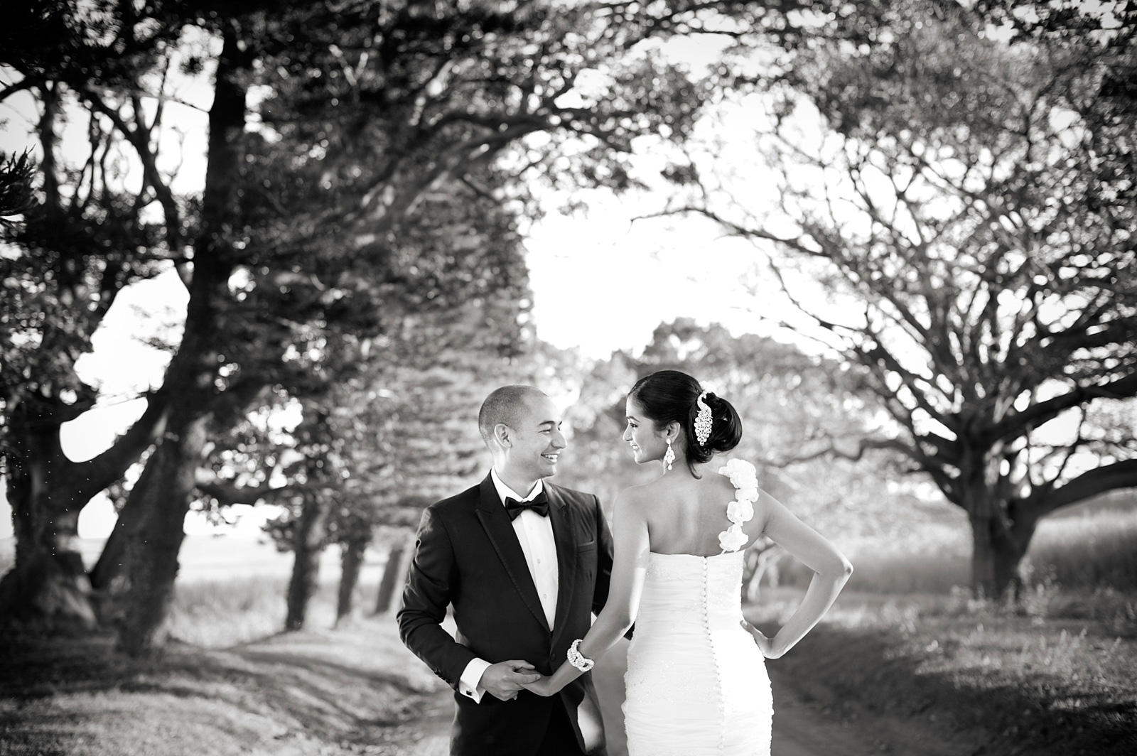 Bride and Groom at Collisheen