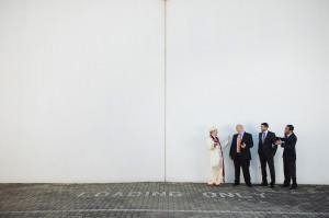 hindu groom and groomsmen