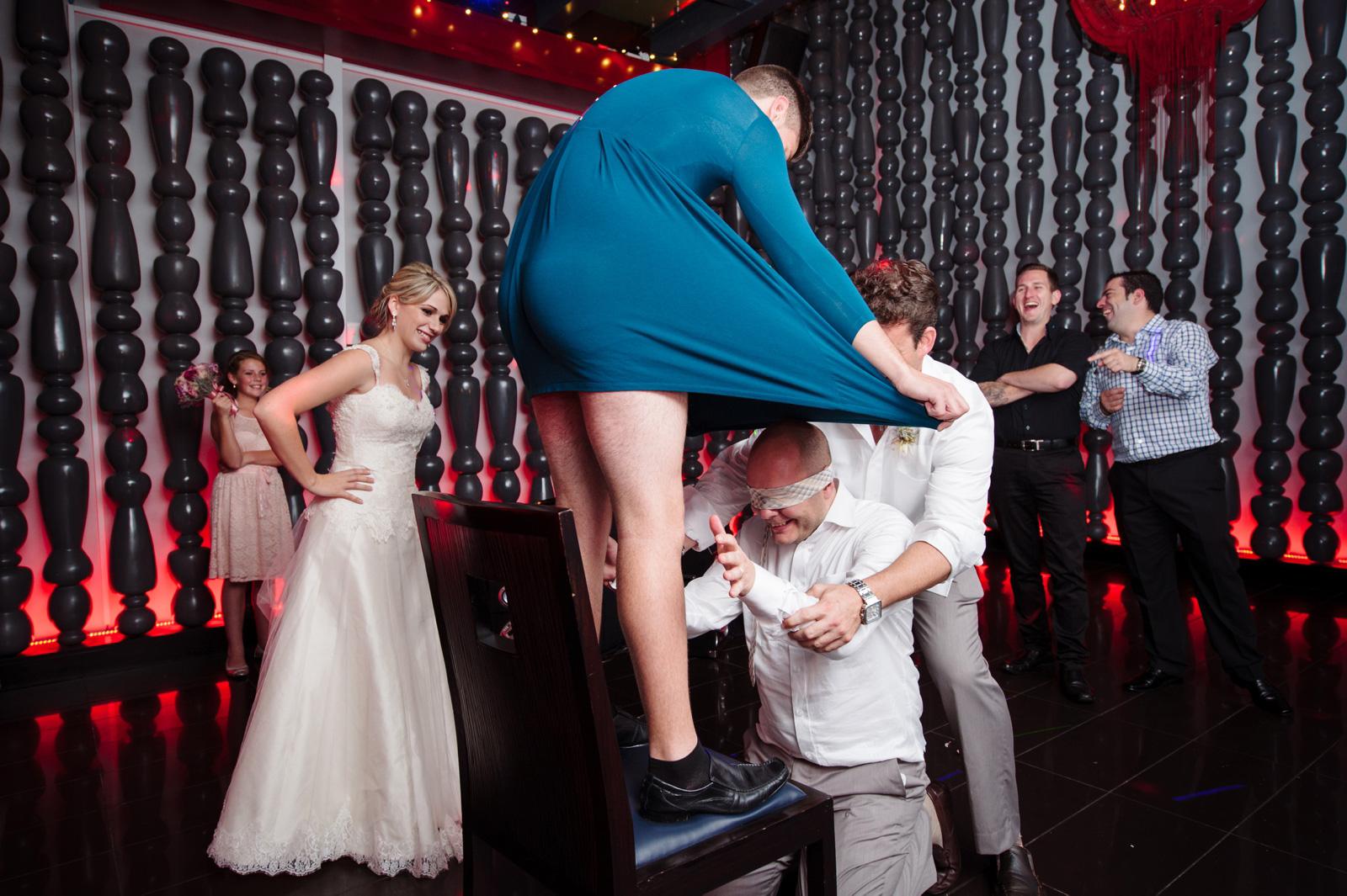 trick the groom