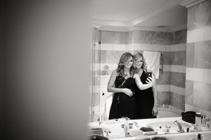 Bridesmaids getting ready Wedding at the Oyster Box Hotel Durban South Africa
