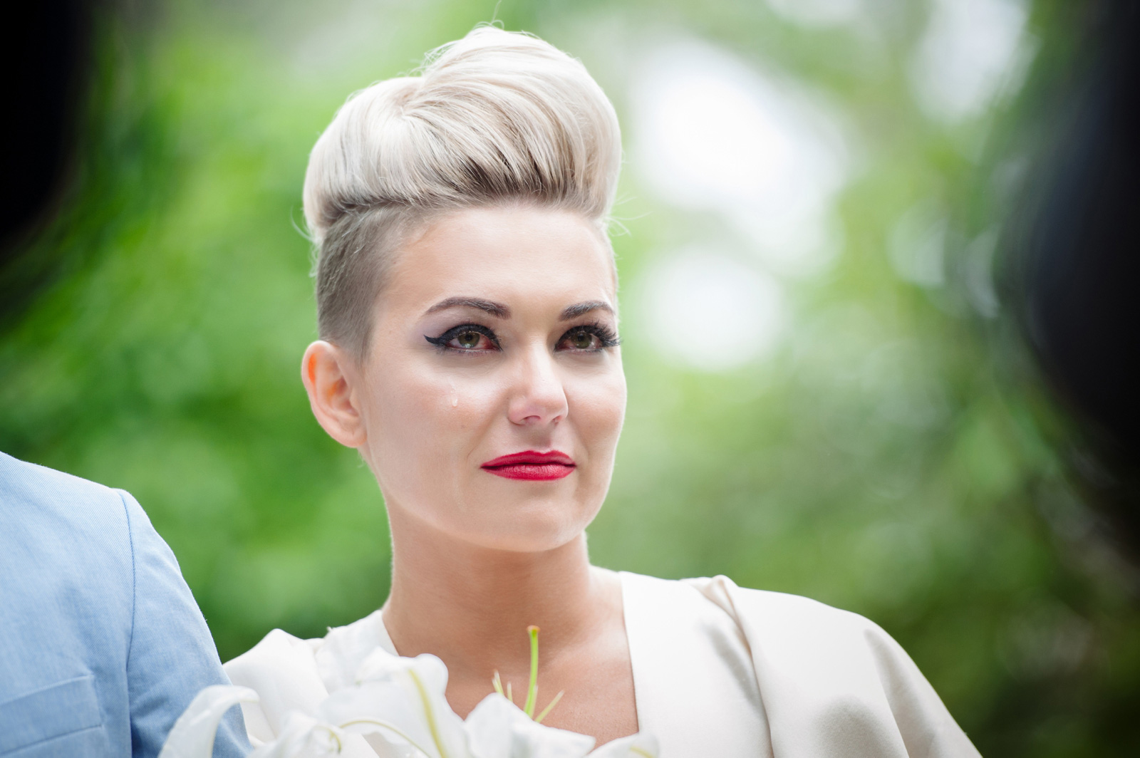 bride with mohawk