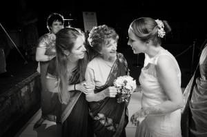 Hindu Christian Wedding Documentary Wedding Photographer Reception Bride