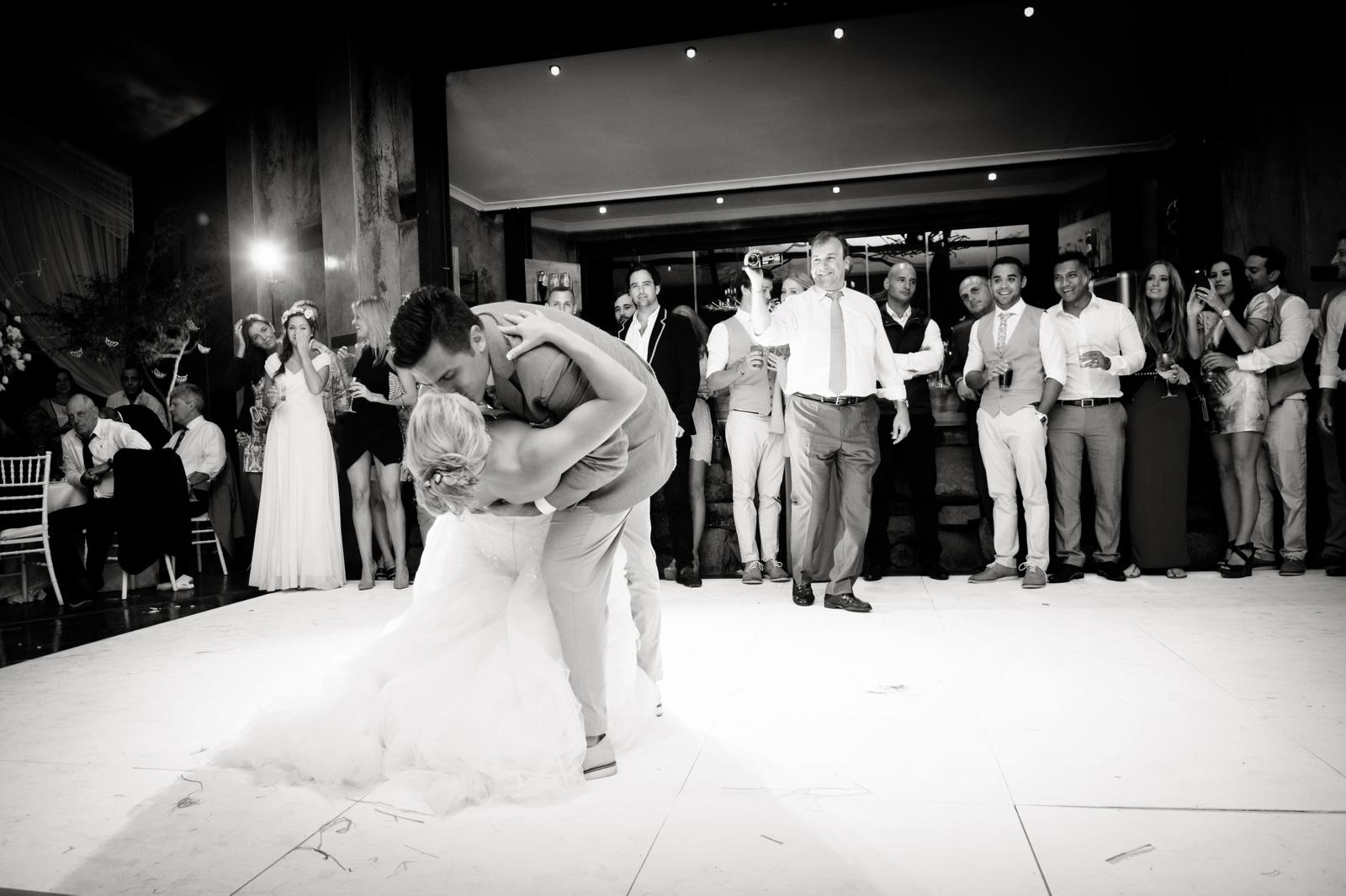 Netherwood Greek Documentary Wedding Photography Reception First Dance