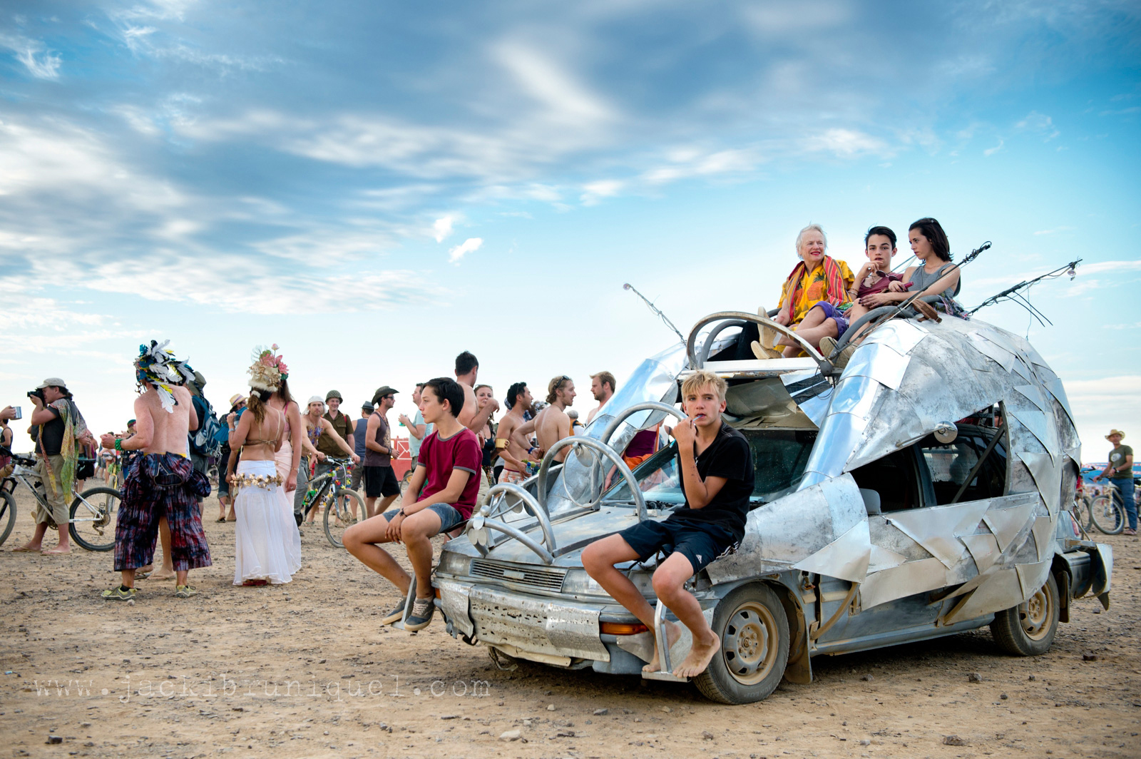 AfrikaBurn Tankwa mutant vehicle