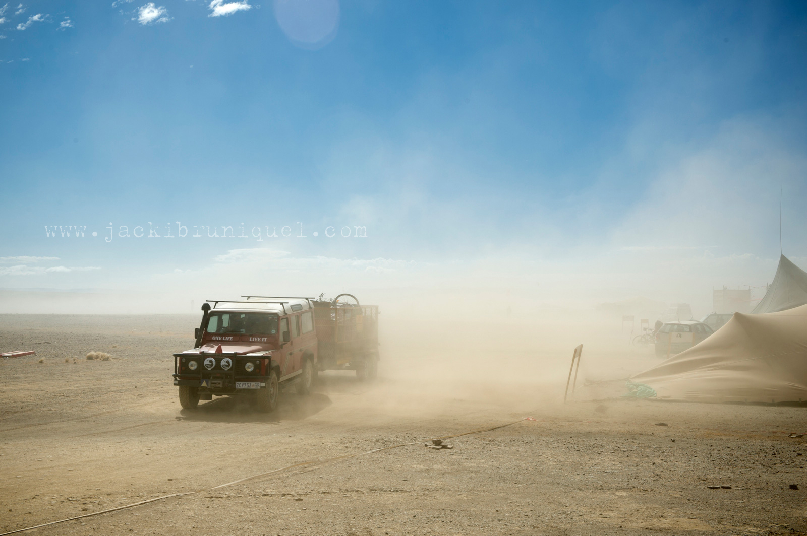 Dust Storm Desert